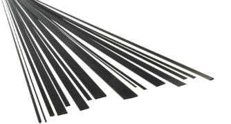 Carbon-Flachstaebe