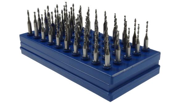 VHM-Bohrer 1,25 bis 1,70 mm 50 Stueck