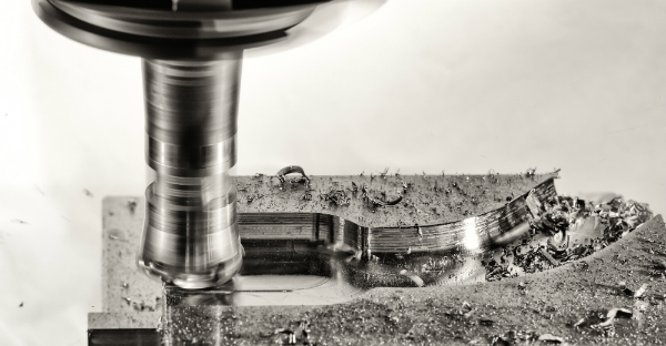 Aluminium eignet sich ideal zum Zerspanen