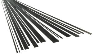 Carbonflachstaebe Flach Stab Carbon-CFK-Flachstab