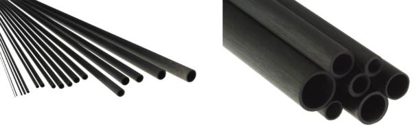 Carbonrohre Rund Rohr Carbon-CFK-Rundrohr