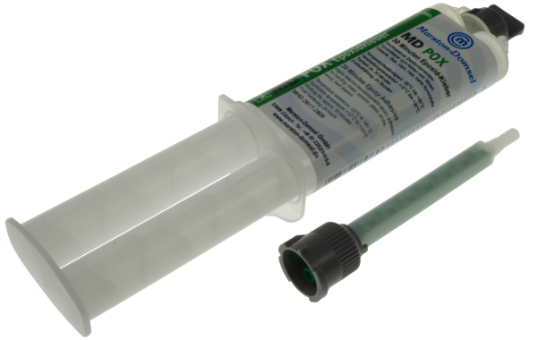 MD-pox Epoxykleber 30 Minuten 1:1 Doppelspritze 25g