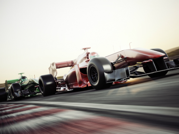 Rennwagen in der Formel 1