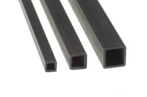 Vierkantrohr aus Carbon