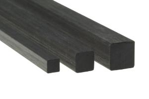 Vierkantstab aus Carbon