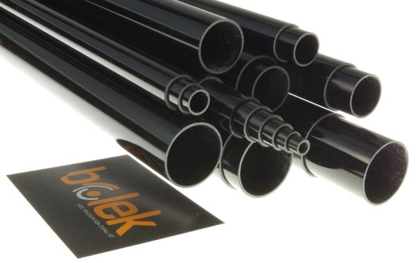Glasfaser-Rohr teleskopierbar Serie T GFK-Rundrohr Hohlprofil