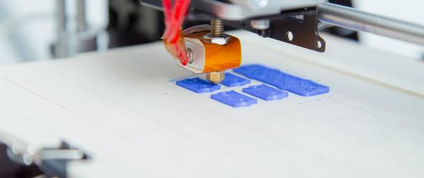 FR4-Platte als Grundplatte eines 3D Druckers
