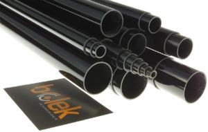Glasfaser-Rohr teleskopierbar Serie T Artikel-Nr.: 12538
